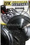 LANDROVER FREELANDER TD4 DUAL MASS REPLACEMENT FLYWHEEL, LUK CLUTCH & CSC